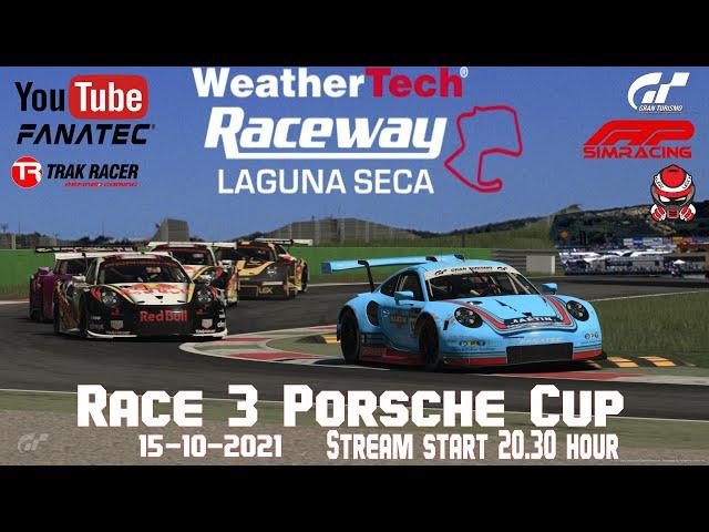 Porsche super Cup Race 3 Laguna Seca