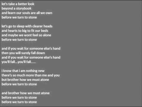 Turn To Stone Ingrid Michaelson Karaoke Instrumental (Grey's Anatomy, So You Think You Can Dance)