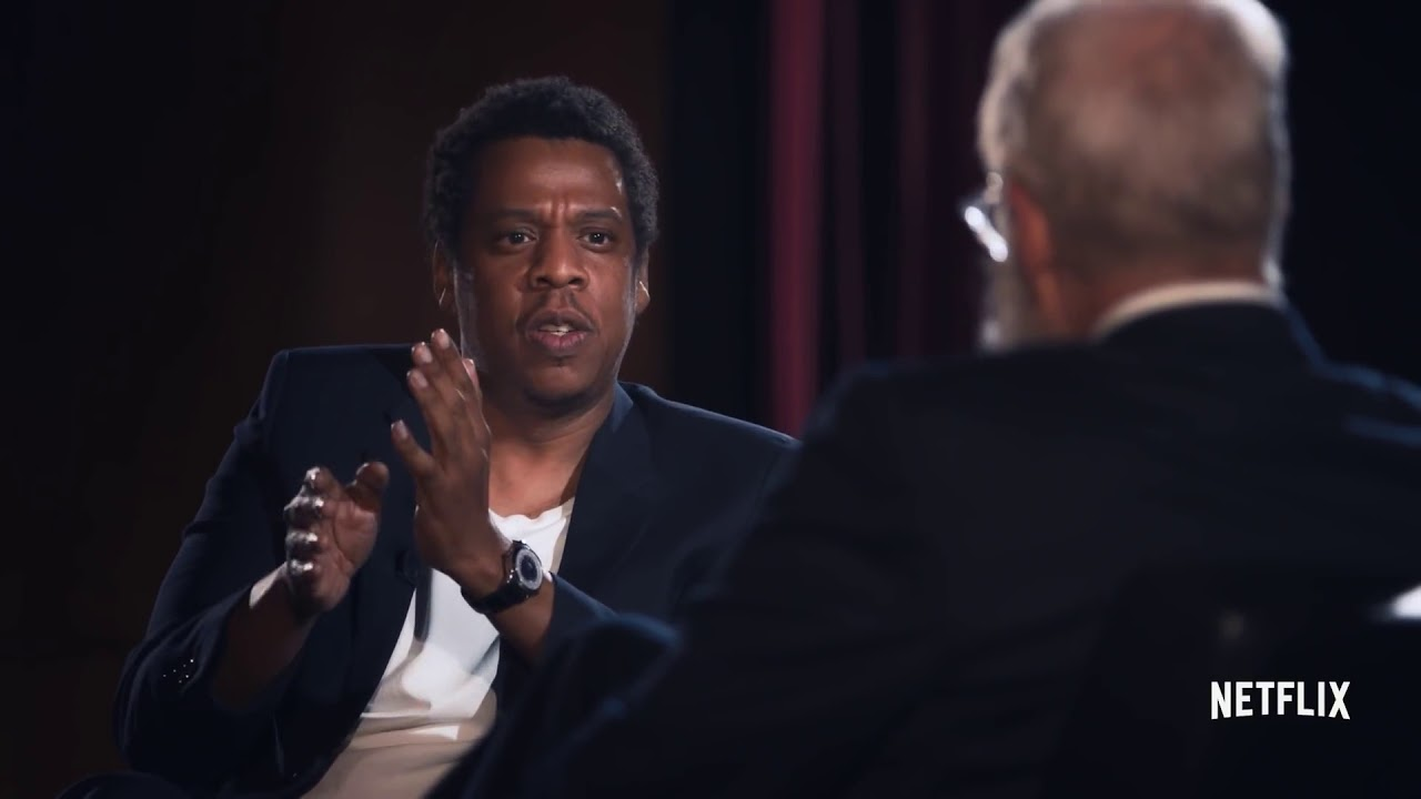 First look jay z breaks down the lyrical game on david lettermans first look jay z breaks down the lyrical game on david lettermans netflix series malvernweather Images