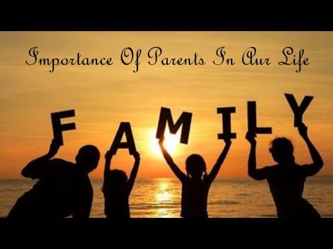 Parents + Kids = Family - Teach Parents Importance To Kids