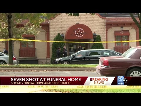 7 Shot At Milwaukee Funeral Home