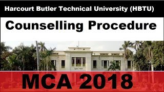Harcourt Butler Technical University (HBTU) Counselling Procedure in MCA for NIMCET Students