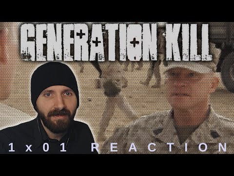 REACTION ► Generation Kill ► 1x01 - Get Some