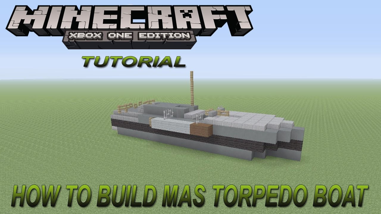 Howt O Build Boat In Minecraft