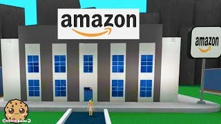 I Work At Amazon For A Day ! Roblox Factory Tycoon Video Game Let's Play