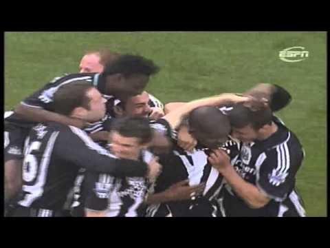 Tottenham 1-4 Newcastle 2007-08