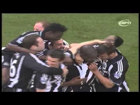 Tottenham 1-4 Newcastle 2007-08