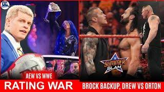 Brock Lesnar Back-Up Plan For Summer Slam | Drew vs Orton | AEW Fyter Fest vs NXT American Bash