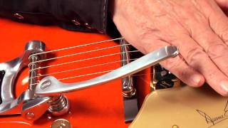 Duane Eddy on his New G6120DE Signature Hollow Body
