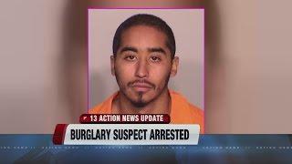 Possible serial burglar arrested in North Las Vegas
