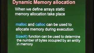 Lecture 4 - External Functions and Argument Passing