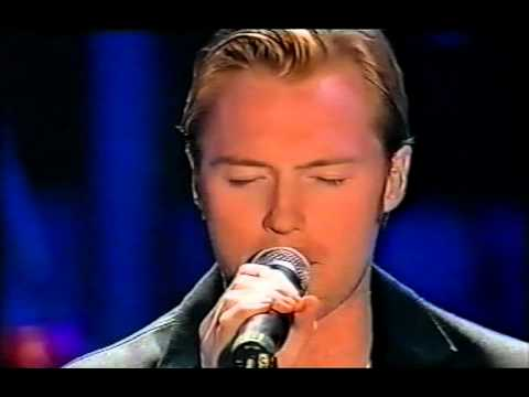 Boyzone - Ronan Keating - Your Song live at the Wicked Women Concert
