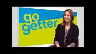 Jayne Croxford introducing GoGetter