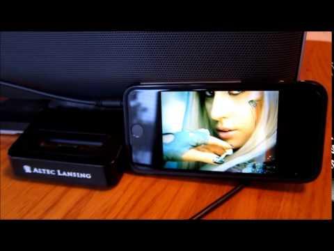 Altec Lansing M604 Speaker System Dock For Phones