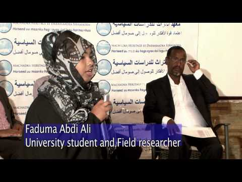 Attitudes Towards Elections and Democracy in Mogadishu