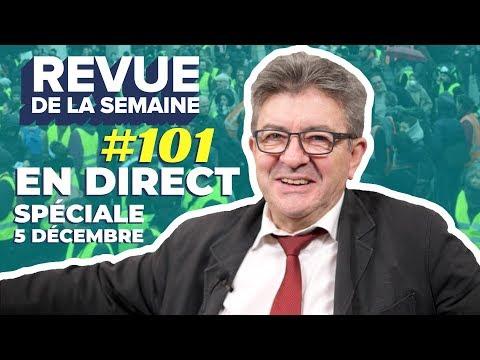 #RDLS101 : grève, retraites, manifestations, médias, police, Macron, salaires