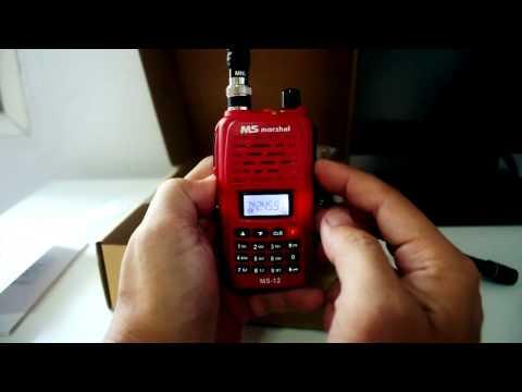 เปิดกล่อง Marshal MS-12 เครื่องแดง ย่านความถี่ 245 Mhz