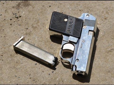Yonezawa Colt Pocket Shell Ejecting Spring Toy Gun ヨネザワ コルトポケット