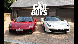 Ferrari 458 versus 488 - which should YOU buy? Includes free WINDOW SMASHING!