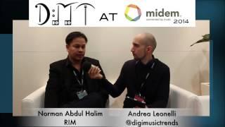 Norman Abdul Halim, Recording Industry Malaysia