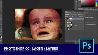 les2 1 -  Lagen Photoshop CC (Dutch tutorial)