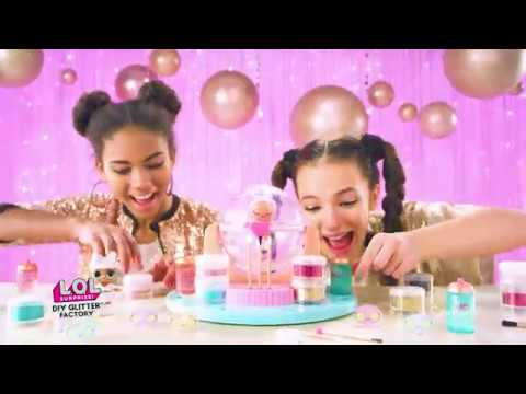 LOL Surprise! | DIY Glitter Factory - Candide Brinquedos