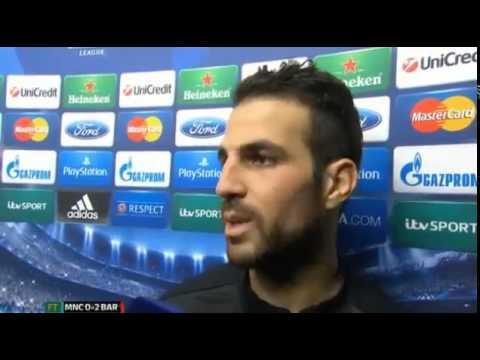 Cesc Fabregas tells Mourinho to 'shut up'