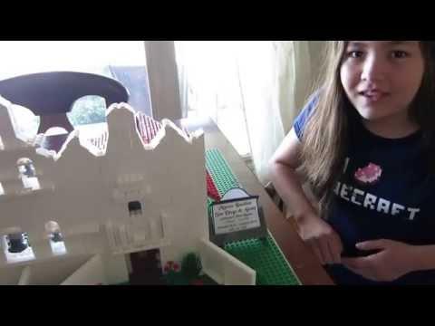 Mission San Diego de Alcala (created with Legos) - 4th Grade Mission