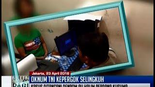 Polisi pergoki istri sedang berbuat asusila dengan atasan, oknum TNI AU, di rumah - BIP 25/04