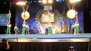 World University Cheerleading Championship - Universidad Nacional de Colombia
