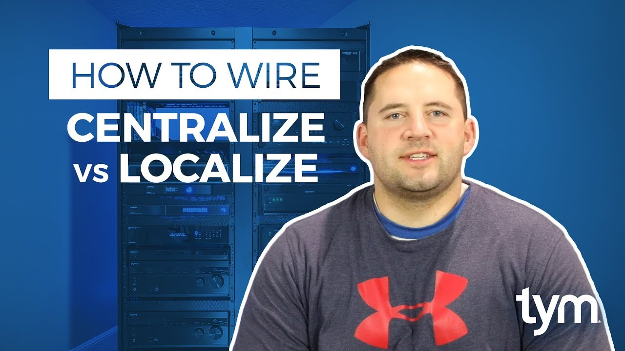 How To Wire A Smart Home Centralize Vs Localize Youtube Wiring For New Homes
