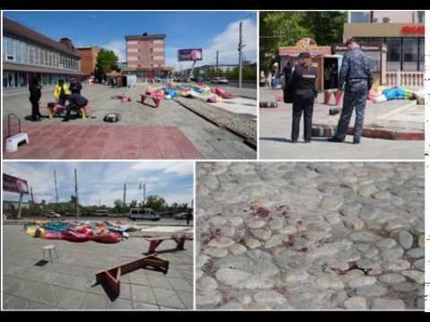 Ужас просто батут лопнул и перевернулся в Улан‐Удэ, пострадали дети!