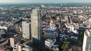 Скачать Offenbach Am Main Germany By Drone