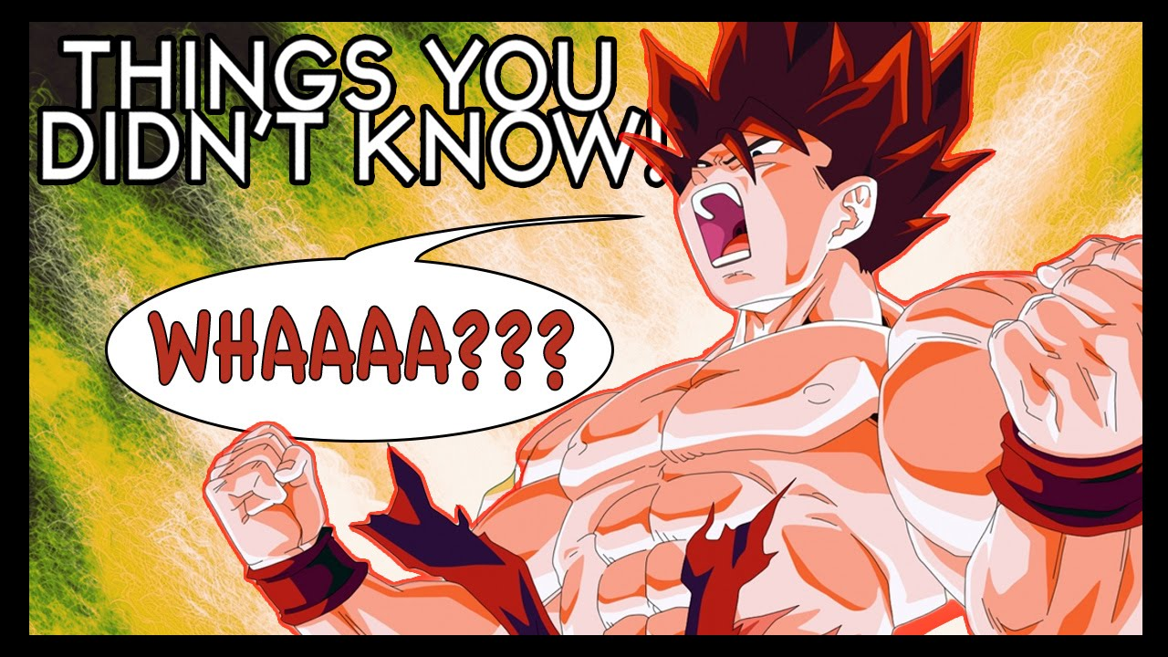 6 Things You (Probably) Didn't Know About Dragon Ball Z ...