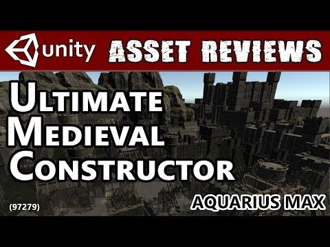 Unity Asset Kit Reviews - Ultimate Medieval Constructor!