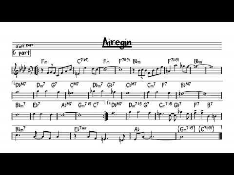 Airegin - Play along - C version