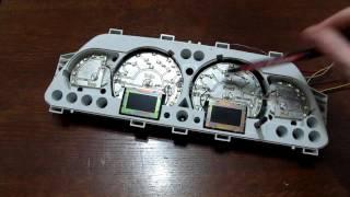 видео Тюнинг ВАЗ 2115: светодиодная подсветка панели приборов в домашних условиях