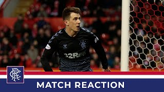 REACTION | Ryan Jack | Aberdeen 2-2 Rangers