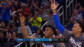 4th Quarter, One Box Video: Orlando Magic vs. Detroit Pistons