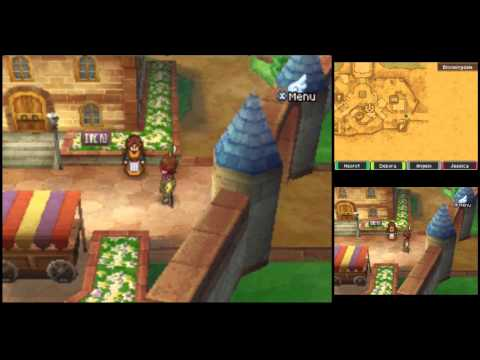 Dragon Quest IX Commentary #049, Bloomingdale: Building Gold with Gold Mail