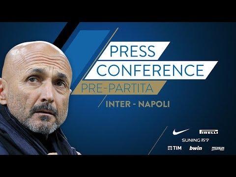 INTER - NAPOLI | Conferenza Stampa di Luciano Spalletti
