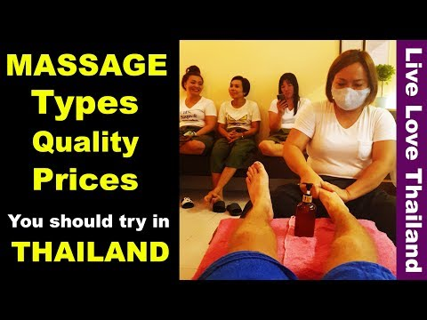Massage Types You Should Try In Thailand – Prices, Quality & Tips #livelovethailand