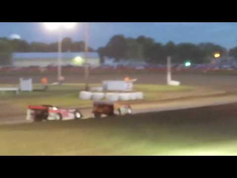 Doug Hammer Racing.  2nd place in heat Farmer City