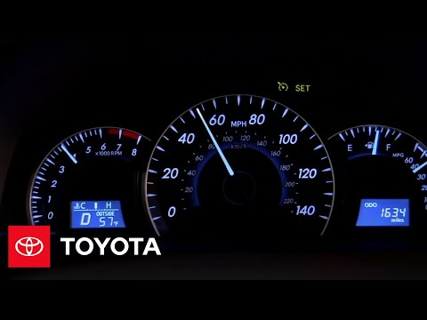 2012 Camry How-To: Cruise Control | Toyota