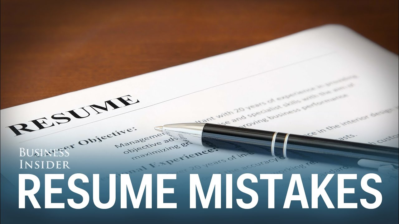 Resume Mistakes Worst Mistakes On Resumes