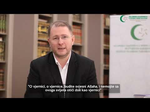 Poziv vjernicima (6) - Istinska svijest o Allahu - doc. dr. hafiz Kenan Musić