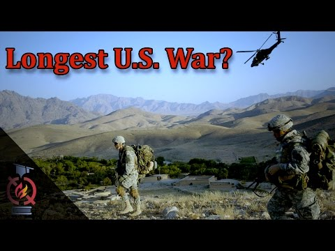 Is Afghanistan the longest war in US history?