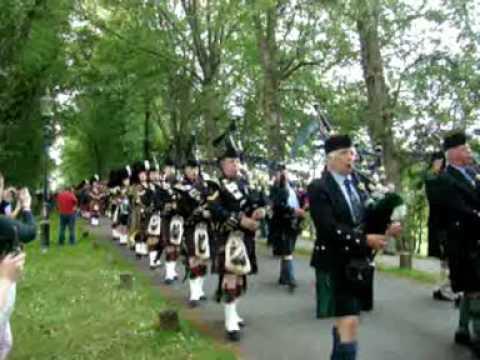 Gordon Highlanders Parade.