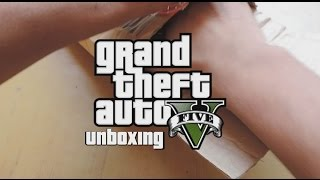 GTA V PC Unboxing and Successful Installation !! [Full HD]