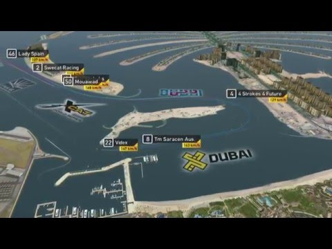 2015 UIM XCAT World Series, Round 2 - Live Webstream, Pole Position - Dubai, U.A.E.